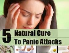5 remède naturel pour les attaques de panique