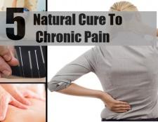 5 remèdes naturels pour la douleur chronique