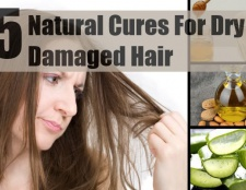 5 remèdes naturels pour les cheveux abîmés sec