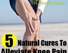 5 remèdes naturels pour soulager la douleur du genou