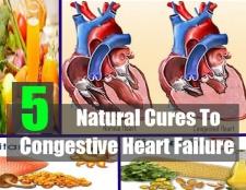 5 remèdes naturels à l'insuffisance cardiaque congestive