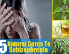 5 remèdes naturels à la schizophrénie