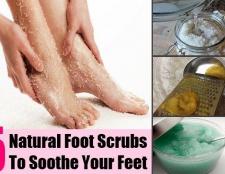 5 exfoliants pour les pieds naturelles pour soulager vos pieds