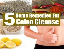 5 remèdes maison naturels pour Colon Cleanse