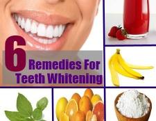 5 Traitements naturels pour le blanchiment des dents