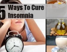 5 façons naturelles pour guérir l'insomnie