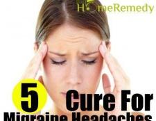 5 remède naturel pour les migraines