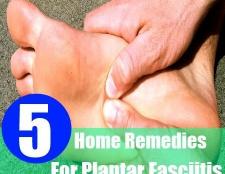 5 remèdes maison simples pour fasciite plantaire