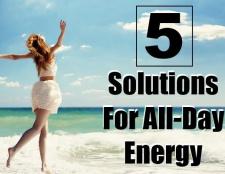 5 Solutions pour tous les jours de l'énergie
