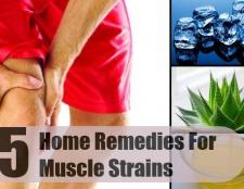 Top 5 des remèdes maison pour les souches musculaires