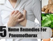 Top 5 des remèdes maison pour pneumothorax