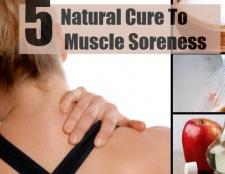 5 remèdes naturels Top pour les douleurs musculaires