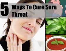 5 façons de guérir les maux de gorge