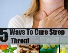5 façons de guérir l'angine streptococcique