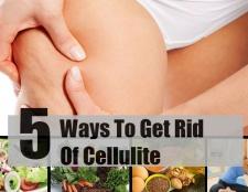 5 façons de se débarrasser de la cellulite