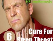 5 façons de se débarrasser de l'angine streptococcique