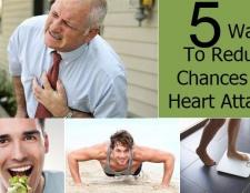 5 façons de réduire les risques de crise cardiaque