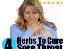 4 magnifiques herbes pour guérir les maux de gorge