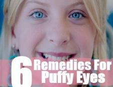 5 façons de traiter les yeux bouffis
