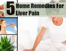 5 remèdes maison merveilleux pour la douleur du foie