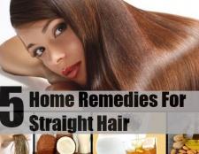 5 remèdes maison merveilleux pour les cheveux raides