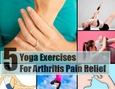 5 exercices de yoga pour soulager la douleur de l'arthrite