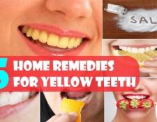 6 remèdes maison étonnants pour les dents jaunes