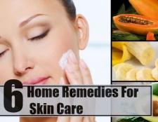 6 meilleurs remèdes maison pour les soins de la peau