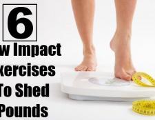6 meilleurs exercices à faible impact de perdre du poids