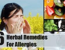 6 remèdes efficaces pour les allergies