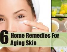 6 remèdes efficaces à domicile pour le vieillissement cutané