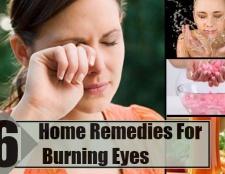 6 remèdes efficaces à domicile pour les yeux brûlants