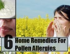 6 remèdes efficaces à domicile pour les allergies au pollen
