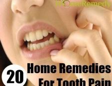 20 remèdes maison efficace pour les douleurs des dents