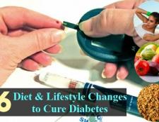 6 bonne alimentation et mode de vie des changements pour guérir et à gérer le diabète