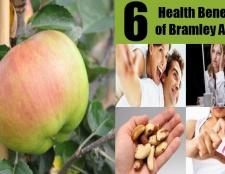 6 prestations de santé de la pomme Bramley