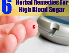 6 remèdes à base de plantes pour le sucre élevé dans le sang
