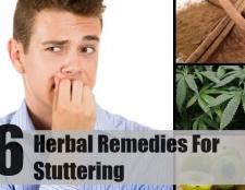 6 remèdes à base de plantes pour le bégaiement