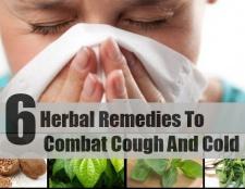 6 Remèdes à la toux de combat et le froid