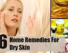 6 Les remèdes maison pour la peau sèche