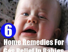 6 Accueil remèdes pour le soulagement de gaz chez les bébés