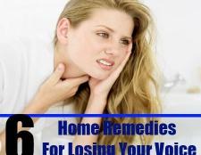 6 Accueil recours pour perdre votre voix