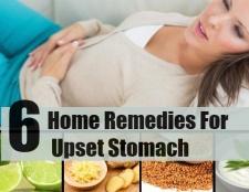 6 Accueil remèdes pour les maux d'estomac