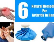 6 Les remèdes naturels pour l'arthrite dans les mains