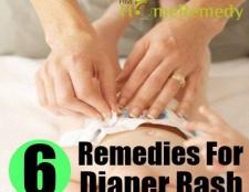 6 remèdes maison sécuritaires pour l'érythème fessier
