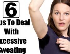 6 conseils sur la façon de traiter la transpiration excessive