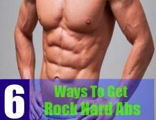 6 façons d'obtenir abs qui sont hard rock