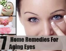 7 remèdes maison pour les yeux étonnants vieillissement