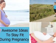 7 idées impressionnants pour rester en forme pendant la grossesse