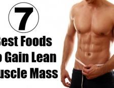 7 meilleurs aliments à gagner de la masse musculaire maigre